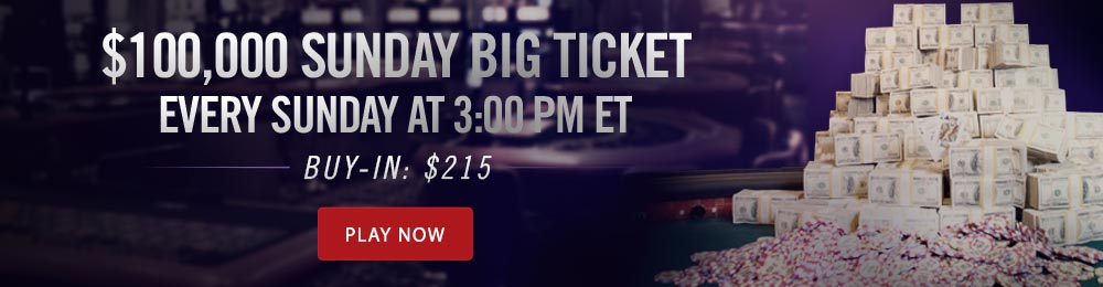 100K Sunday Big Ticket